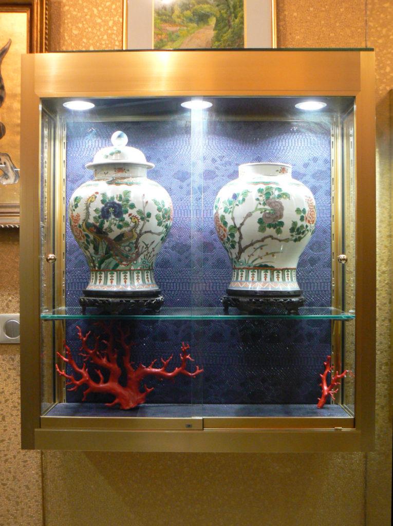 vitrine musée paris
