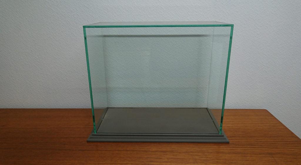 vitrine cloche en verre